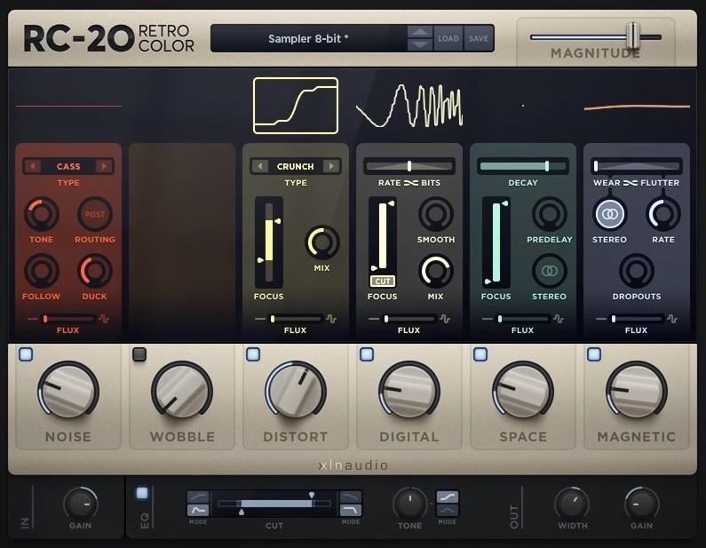 RC-20 Retro Color Review - Top 8 Lo-Fi Plugins & 4 Best Free Plugins | Integraudio.com