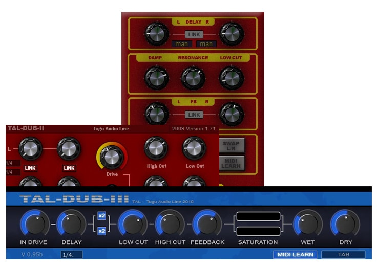 TAL Dub's Collection Review - The 10 Best FREE Delay Plugins 2021 (VST, AU, AAX) | Integraudio.com