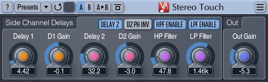 Voxengo Stereo Touch Review - Top 6 Free Stereo Widening Plugins | Integraudio.com