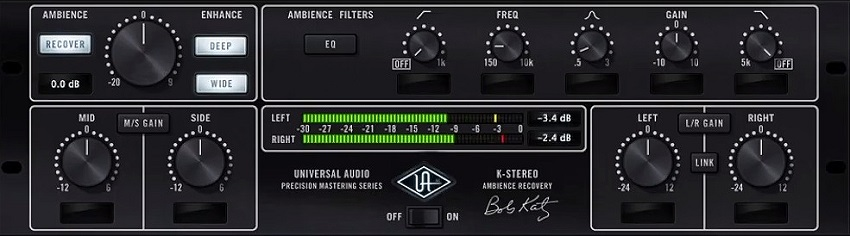 UAD Precision K-Stereo Ambience Recovery Review - Top 10 Stereo Widening Plugins | Integraudio.com
