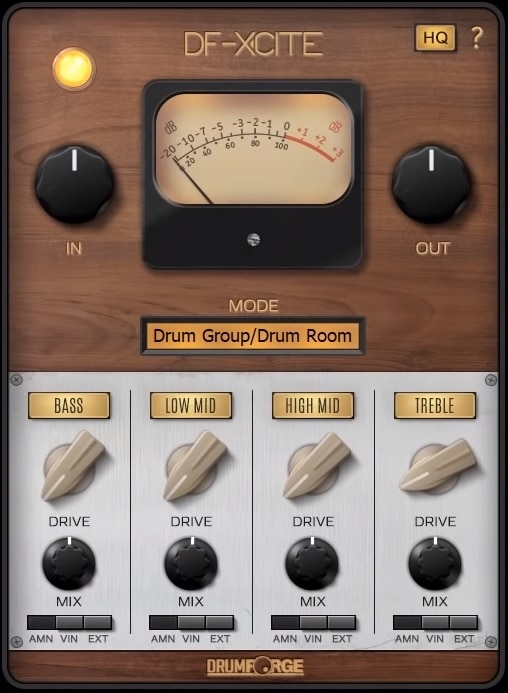 Drumforge DF-Xcite Review - Top 7 Exciter Plugins & 3 Best Free Exciters (For Mixing & Mastering)   Integraudio.com