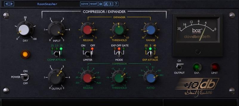 Boz Digital Labs +10db Compressor Review - Top 10 Best FET Compressor Plugins   integraudio.com