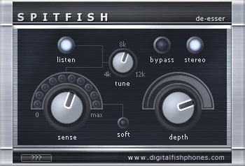 Digitalfishphones SPITFISH Review - Top 7 De-Esser Plugins 2021 (And 4 Best Free Alternatives) | Integraudio.com