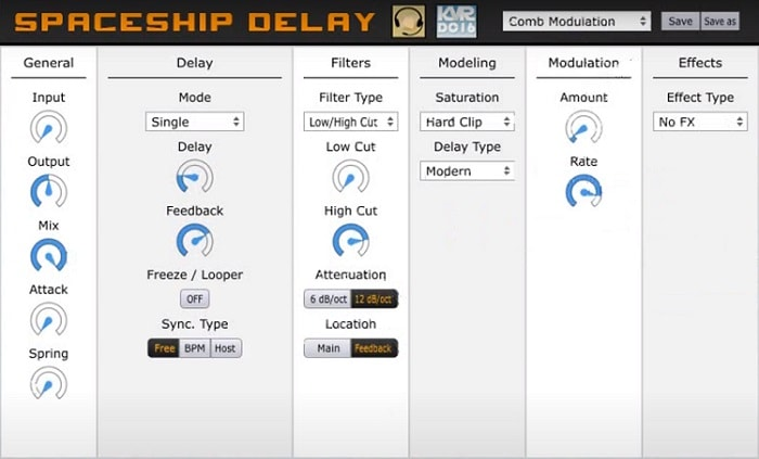 Musical Entropy Spaceship Delay Review - The 10 Best FREE Delay Plugins 2021 (VST, AU, AAX) | Integraudio.com
