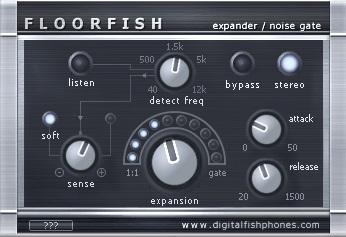 Fishphones FLOORFISH - 30 Best Free Plugins For Drum & Bass | Integraudio.com