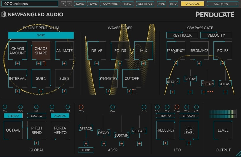 Newfangled Audio Pendulate Review - 5 Best FREE Synth Plugins | Integraudio.com
