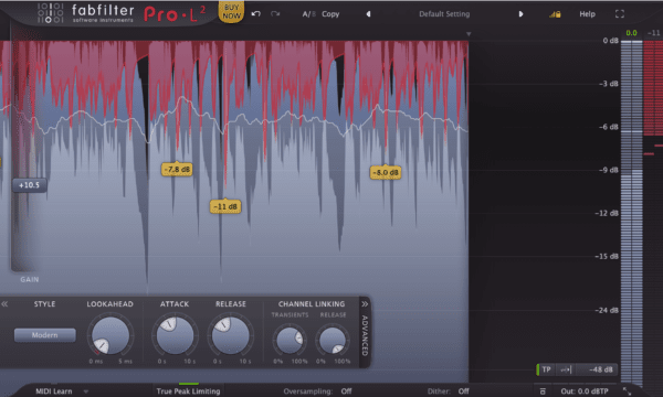 FabFilter L2 - Complete Guide To Limiters | Integraudio.com