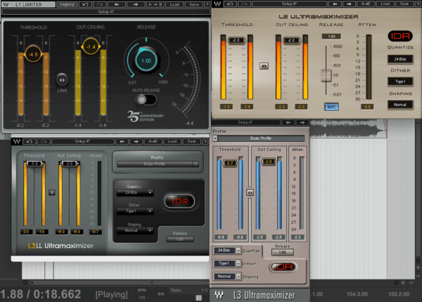 Waves L1, L2, and L3 Ultramaximizer - Complete Guide To Limiters | Integraudio.com