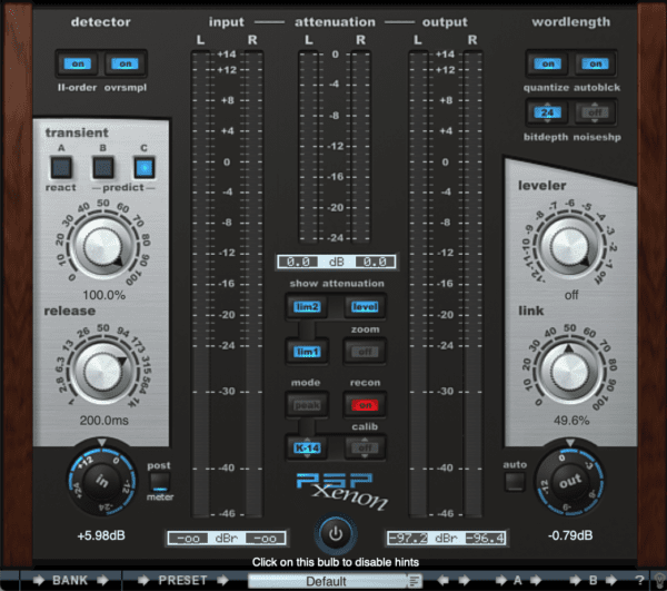 PSP Xenon Limiter - Complete Guide To Limiters | Integraudio.com