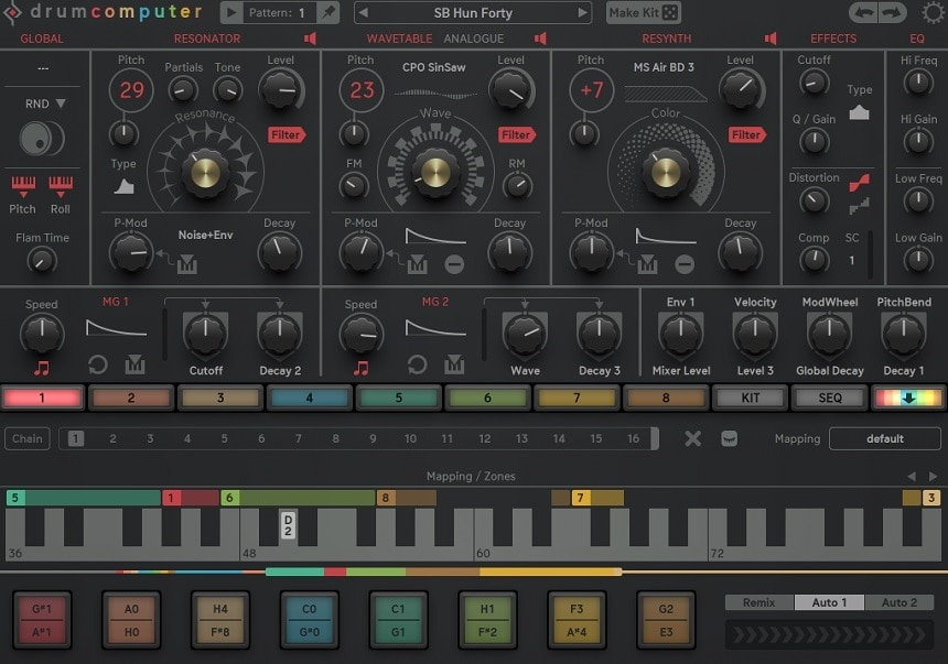 SugarBytes Drum Computer Review - The 9 Best Drum Machine Plugins   Integraudio.com