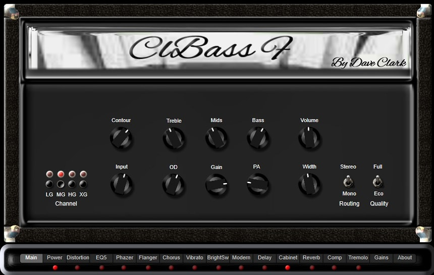 EXE Consulting ClBass F Review - The 6 Best FREE Bass Amp Plugins   Integraudio.com