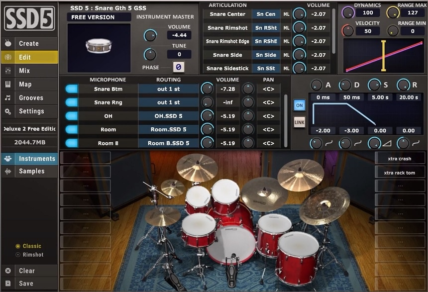 Steven Slate Drums 5.5 Review - Top 11 Drums & Percussion Plugins (And 5 Best FREE Plugins) | Integraudio.com