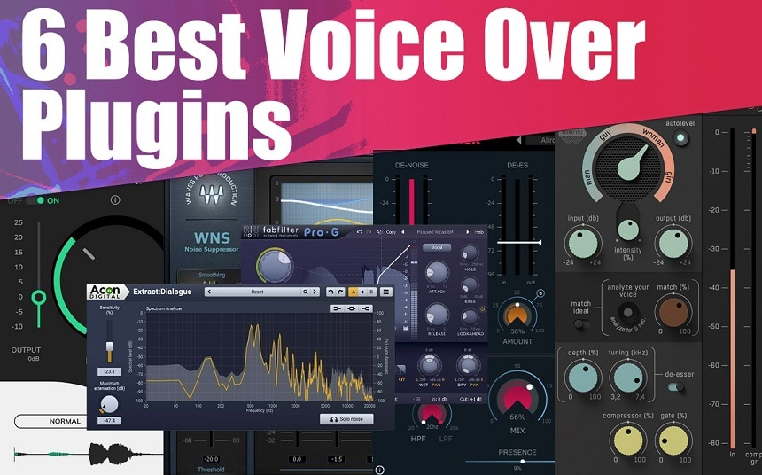 Top 6 Plugins For Voice Over & Dialogue Cleaning 2021 | Integraudio.com