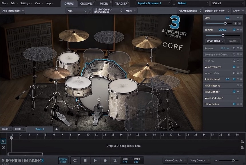 Superior Drummer 3 Review - Top 11 Drums & Percussion Plugins (And 5 Best FREE Plugins) | Integraudio.com