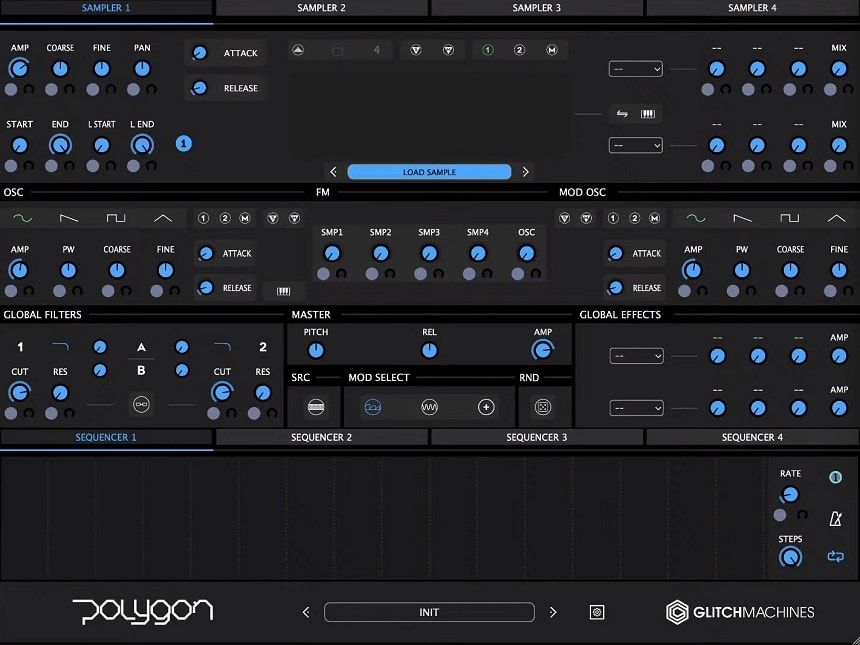 Glitchmachines Polygon 2.0 Review - Top 6 Best Sampler Plugins 2021 (And 3 Best FREE Samplers)   Integraudio.com