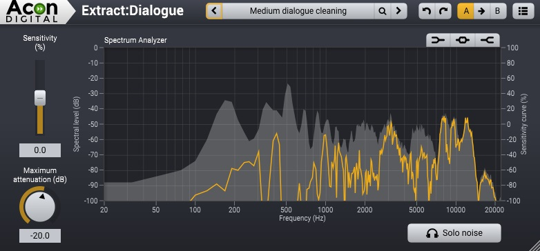 Acon Digital Extract:Dialogue Review - Top 6 Noise Reduction Plugins (And 3 Best Free Plugins) | Integraudio.com