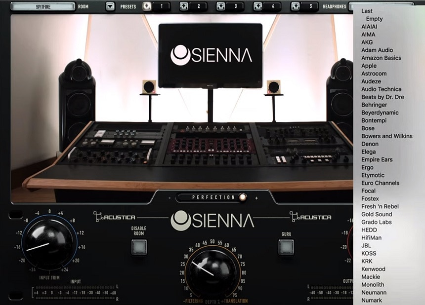 Acustica Audio Sienna Review - Top 10 Room Calibration Plugins & Tools | Integraudio.com