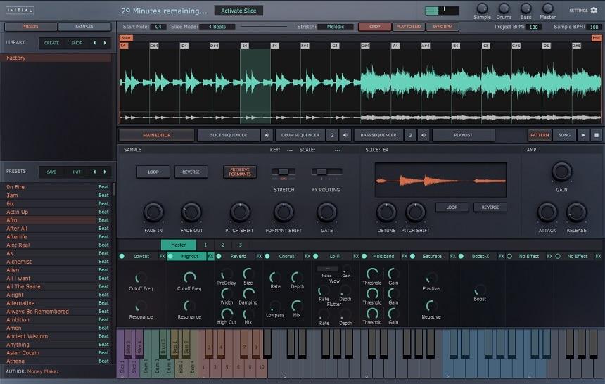 Initial Audio Slice Review - Top 6 Best Sampler Plugins 2021 (And 3 Best FREE Samplers)   Integraudio.com