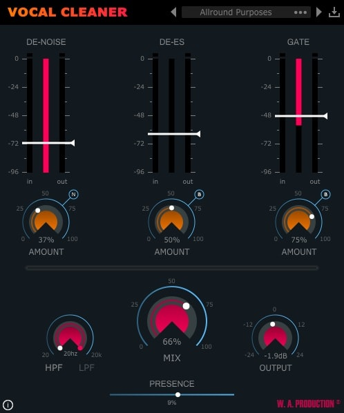 W.A. Production Vocal Cleaner Review - Top 6 Plugins For Voice-Over & Dialogue Cleaning | Integraudio.com