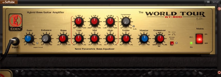 Softube Eden WT-800 Review - Top 10 Bass Amp Plugins (And 6 Best FREE Plugins)   Integraudio.com