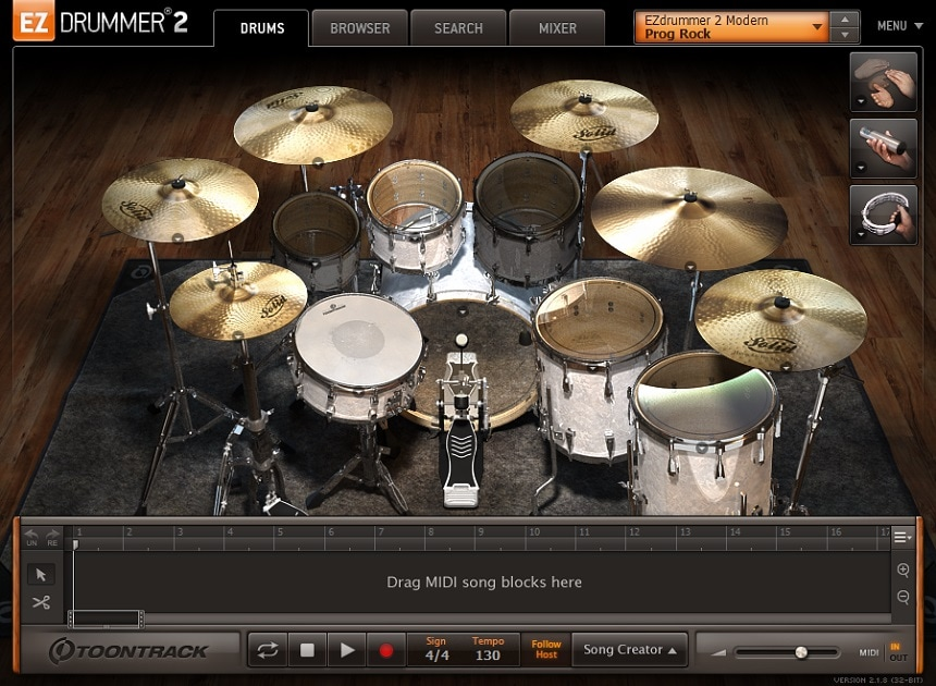 Toontrack EZdrummer 2 Review - Top 11 Drums & Percussion Plugins (And 5 Best FREE Plugins) | Integraudio.com