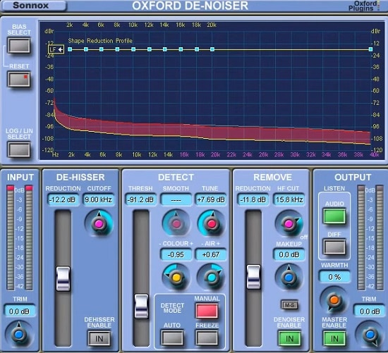 Sonnox Oxford DeNoiser Review - Top 6 Noise Reduction Plugins (And 3 Best Free Plugins) | Integraudio.com