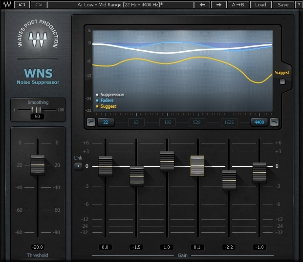 Waves WNS Noise Suppression Review - Top 6 Plugins For Voice-Over & Dialogue Cleaning | Integraudio.com
