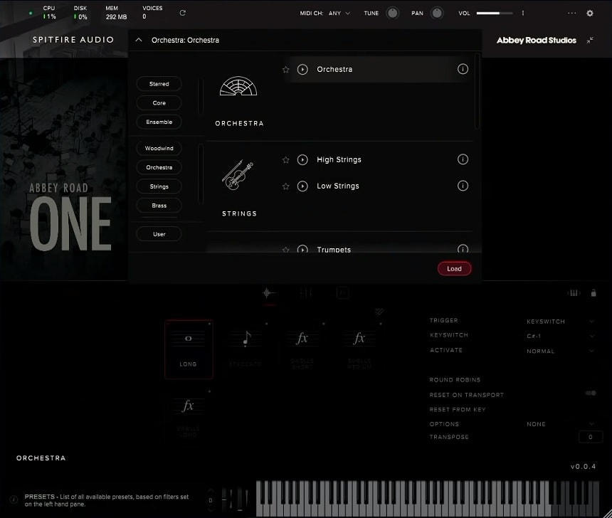 Abbey Road One Orchestral Foundations Review - Top 7 Film Scoring Plugins 2021 (And 7 Best Sample Kontakt Libraries) | Integraudio.com