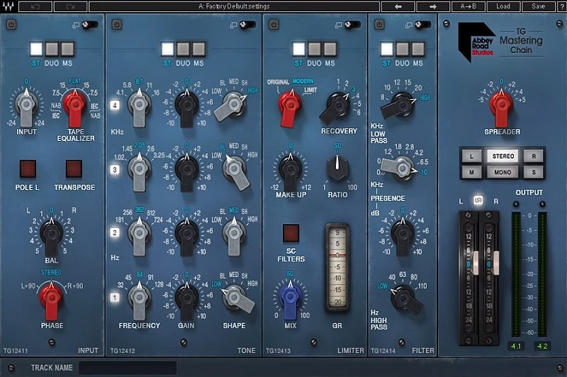 Waves Abbey Road TG Mastering Chain Review - Top 13 Waves Plugins | Integraudio.com