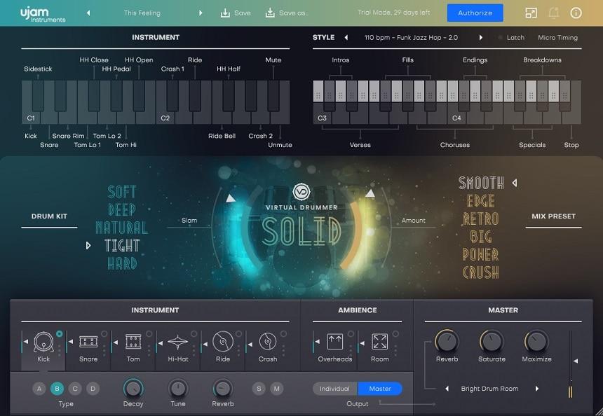 Virtual Drummer 2 SOLID Review - Top 9 Drum Machine Plugins For Beatmaking (Best Grooveboxes)   Integraudio.com