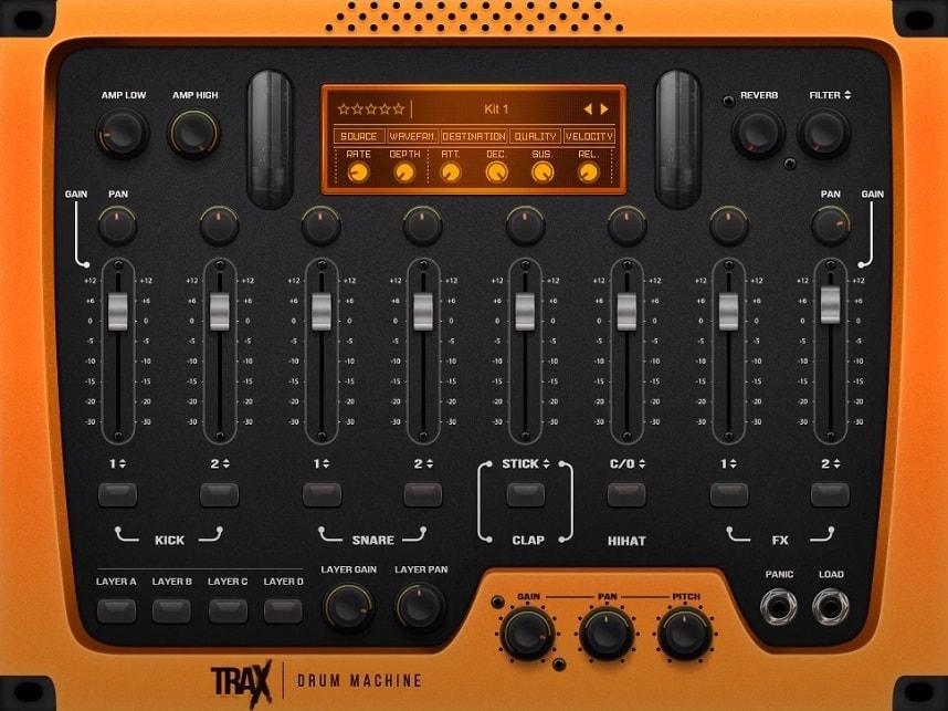 Thenatan TRAX Review - The 9 Best Drum Machine Plugins   Integraudio.com