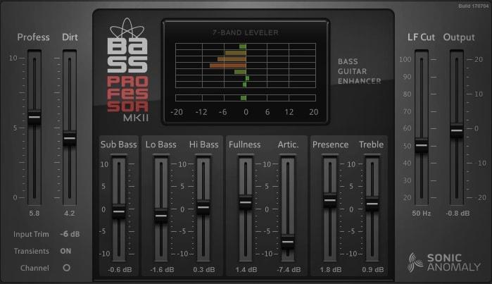 Bass Professor Mark II Review - The 6 Best FREE Bass Amp Plugins   Integraudio.com