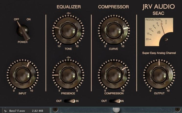 JRV Audio Seac Review - Top 5 Diode-Bridge Compressor Plugins   Integraudio.com