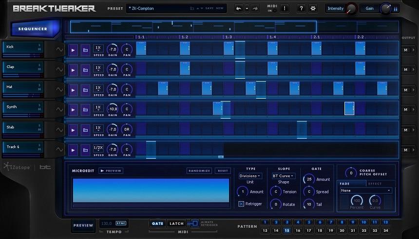 iZotope BreakTweaker Review - Top 9 Drum Machine Plugins For Beatmaking (Best Grooveboxes)   Integraudio.com