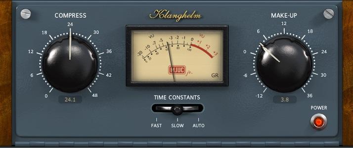 Klanghelm MJUC JR. / Vari-mu Review - Top 11 Free Compressor Plugins 2021 (VCA, Vari-Mu, FET, Digital) | Integraudio.com