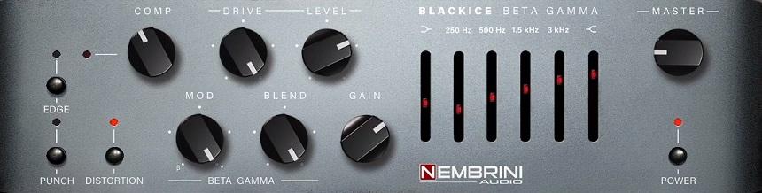 Nembrini Audio Blackice Beta Gamma Bass Amplifier Review - Top 10 Bass Amp Plugins (And 6 Best FREE Plugins)   Integraudio.com