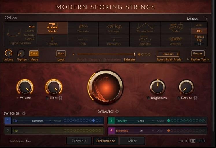 Audiobro Modern Scoring Strings Review - The 7 Best Kontakt Sample Libraries For Film Scoring | Integraudio.com