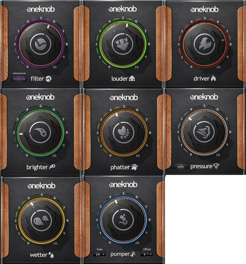 Waves One Knob Series Review - Top 14 VST Plugins For Beginners | Integraudio.com