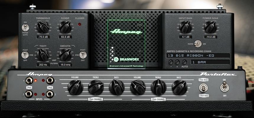 Plugin Aliance Ampeg B-15N Review - Top 10 Bass Amp Plugins (And 6 Best FREE Plugins)   Integraudio.com