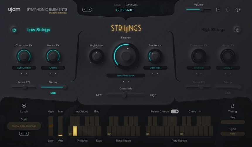UJAM Symphonic Elements STRIIIINGS Review - Top 7 Film Scoring Plugins 2021 (And 7 Best Kontakt Sample Libraries) | Integraudio.com
