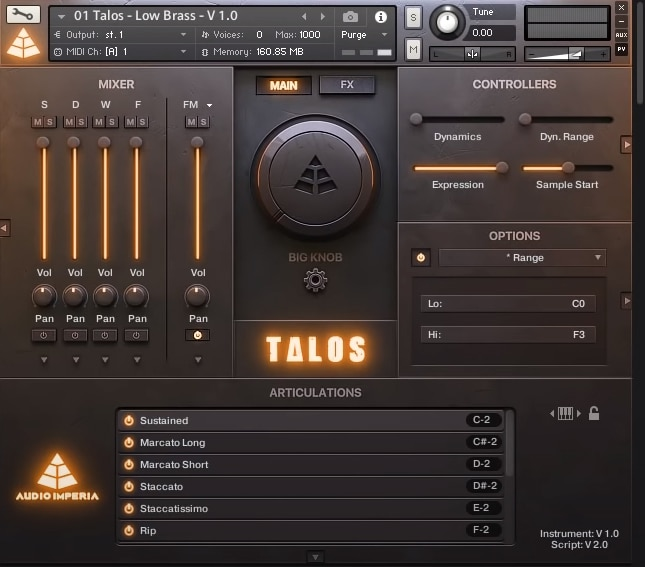 Audio Imperia Talos Review - The 7 Best Kontakt Sample Libraries For Film Scoring | Integraudio.com