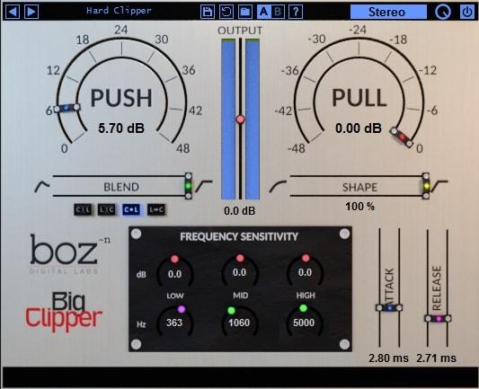 Boz Digital Labs Big Clipper Review - Top 7 Clipper Plugins (Best Limiter Alternatives) | Integraudio.com