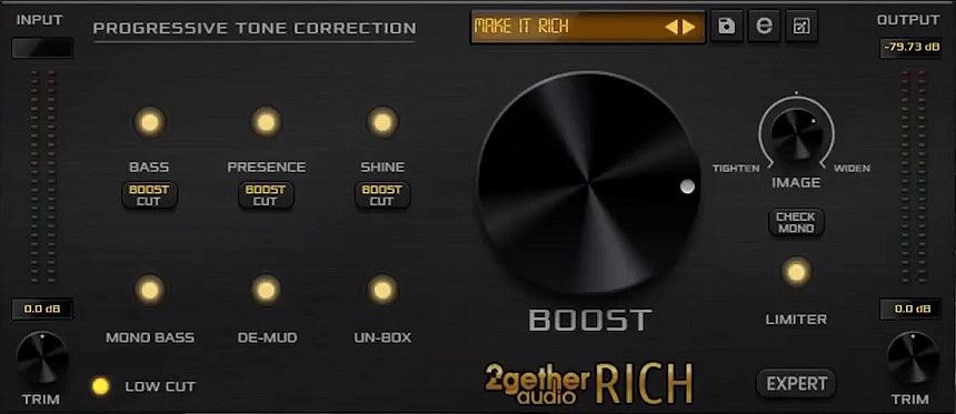 2getheraudio RICH Mastering Plugin Review - Top 6 Mastering Chain Plugins | Integraudio.com