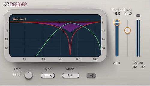 Waves Renaissance DeEsser - Top 14 VST Plugins For Beginners | Integraudio.com