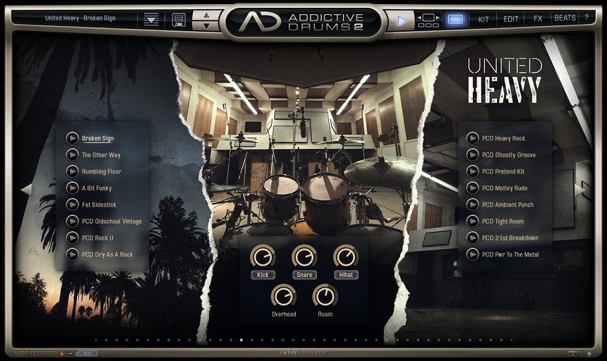 Addictive Drums 2 Review - Top 11 Drums & Percussion Plugins (And 5 Best FREE Plugins) | Integraudio.com