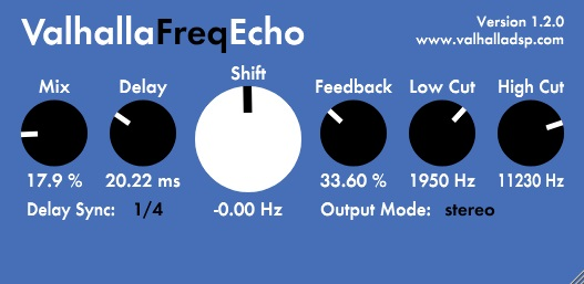 Valhalla Freq Echo Review - Top 9 Best FREE VST Plugins For Beginners | Integraudio.com