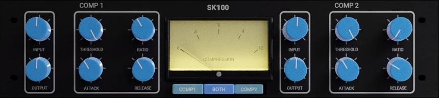 SNFK Music SK100 Review - Top 11 Free Compressor Plugins 2021 (VCA, Vari-Mu, FET, Digital) | Integraudio.com