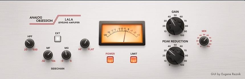 Analog Obsession LALA Review - Top 11 Free Compressor Plugins 2021 (VCA, Vari-Mu, FET, Digital) | Integraudio.com