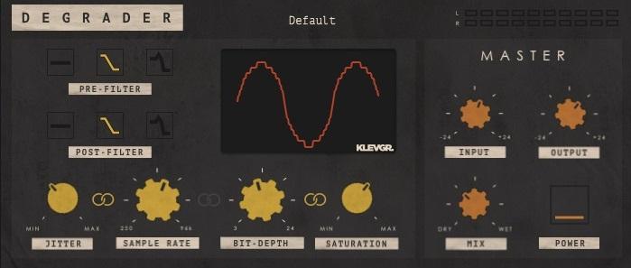 Klevgrander Degrader Review - Top 7 BitCrusher Plugins (And 4 Best FREE Effects) | Integraudio.com