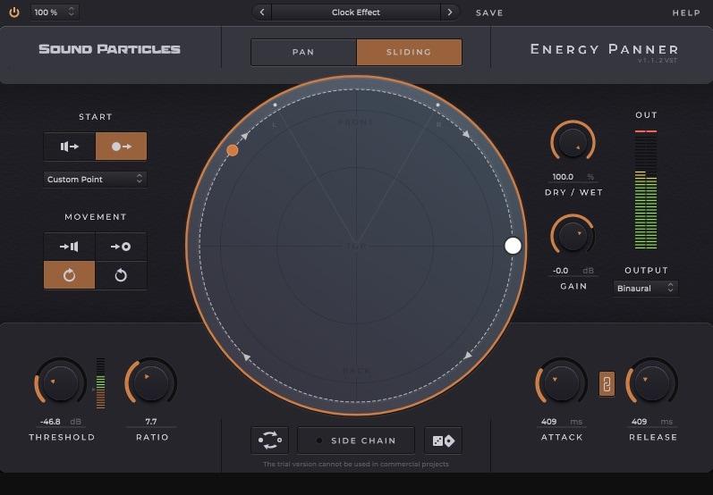 Sound Particles Energy Panner- 7 Best Autopan VST Plugins   Integraudio.com